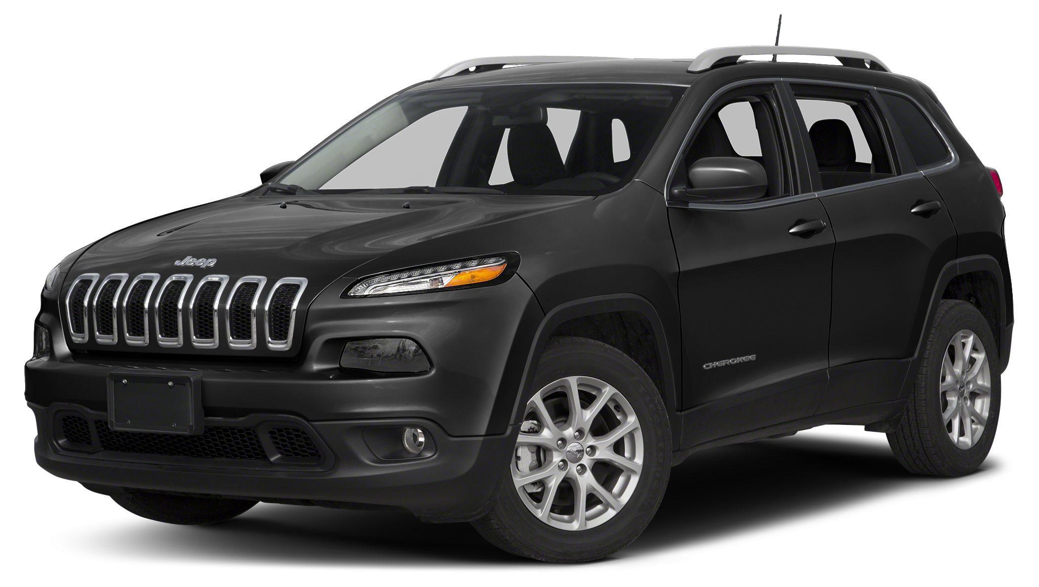 2017 Jeep Cherokee Latitude Sunroof Back-Up Camera Satellite Radio iPodMP3 Input TRANSMISSION