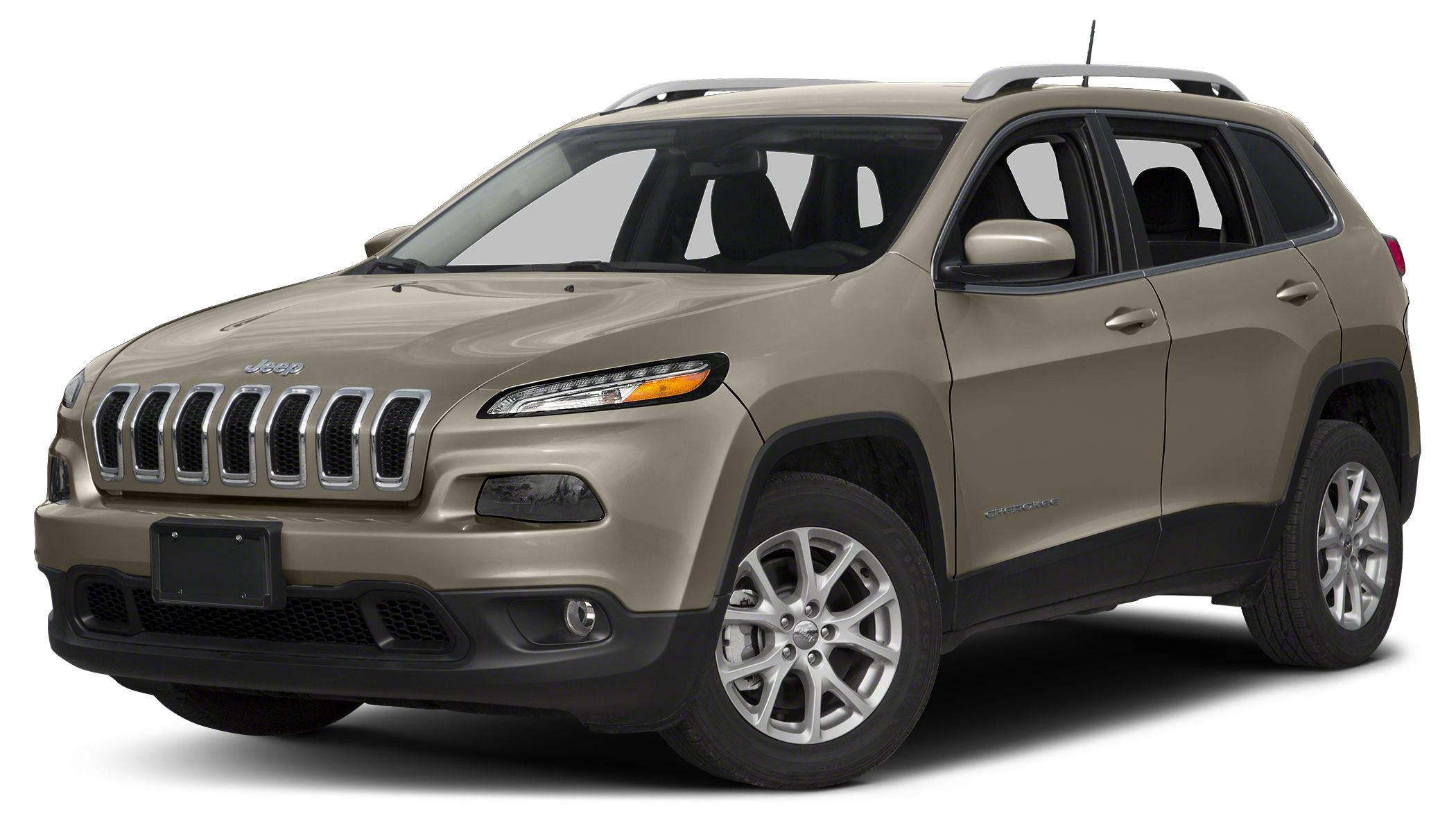 2017 Jeep Cherokee Latitude Color Light Brownstone Pearlcoat Stock 17X031 VIN 1C4PJLCBXHW5074