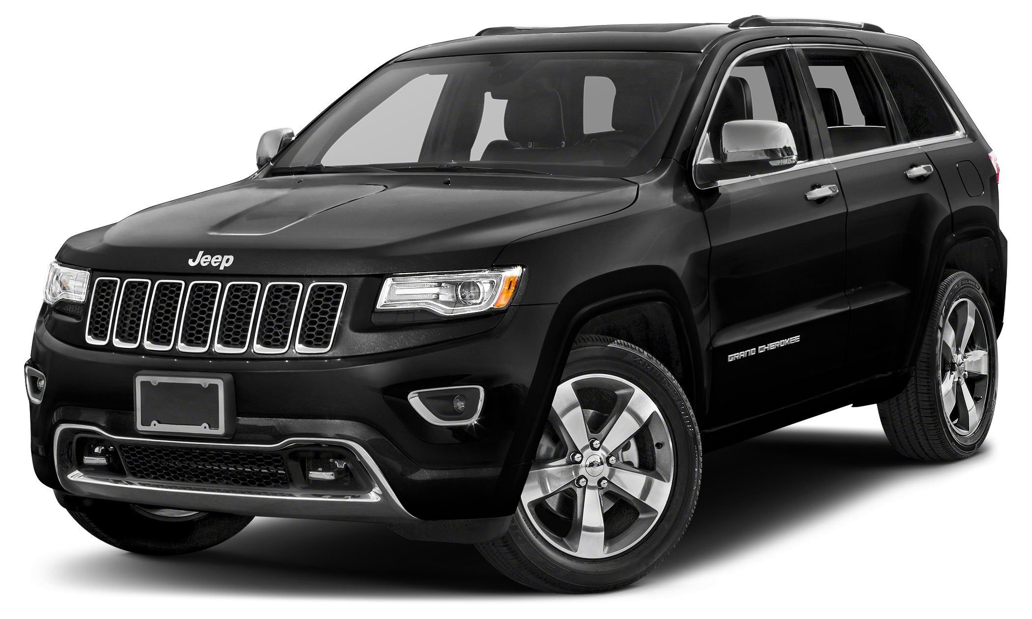 2014 Jeep Grand Cherokee Overland Miles 49554Color Brilliant Black Crystal Pearlcoat Stock JG1
