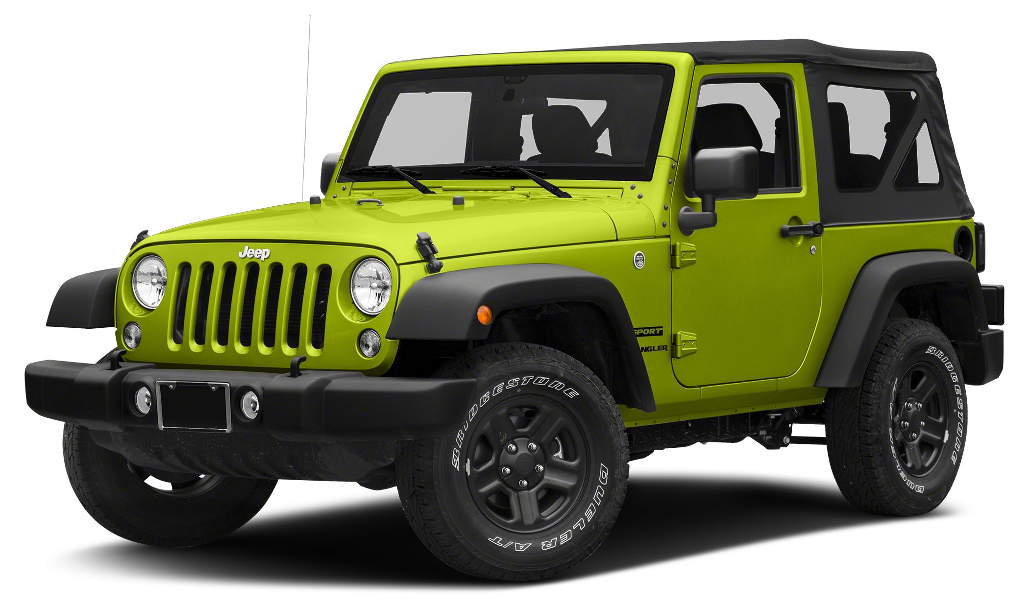 2016 Jeep Wrangler Sport Miles 25Color Hypergreen Clearcoat Stock 16W852 VIN 1C4AJWAG6GL3278