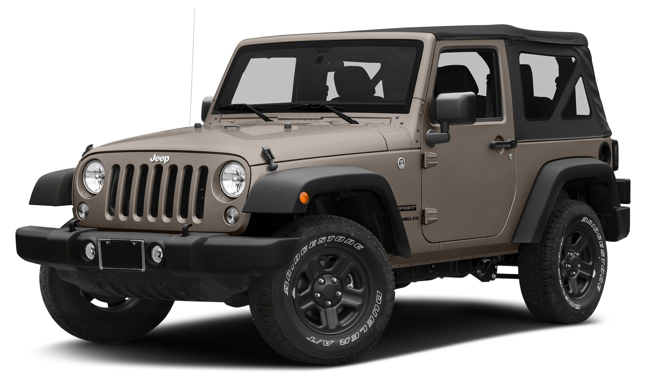 2016 Jeep Wrangler Sport Sport trim Mojave Sand Clear Coat exterior 4x4 QUICK ORDER PACKAGE 24S