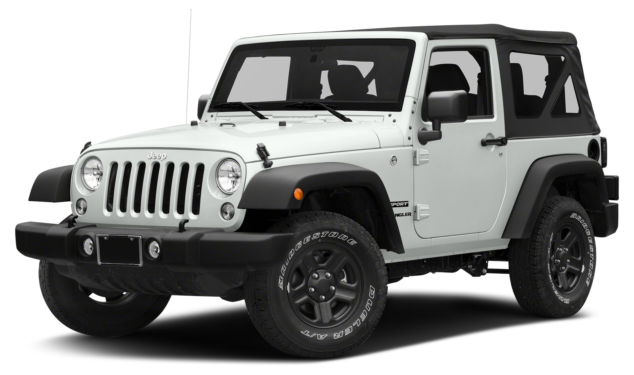 2016 Jeep Wrangler Sport Miles 5Color Bright White Clearcoat Stock GL110586 VIN 1C4AJWAG0GL1