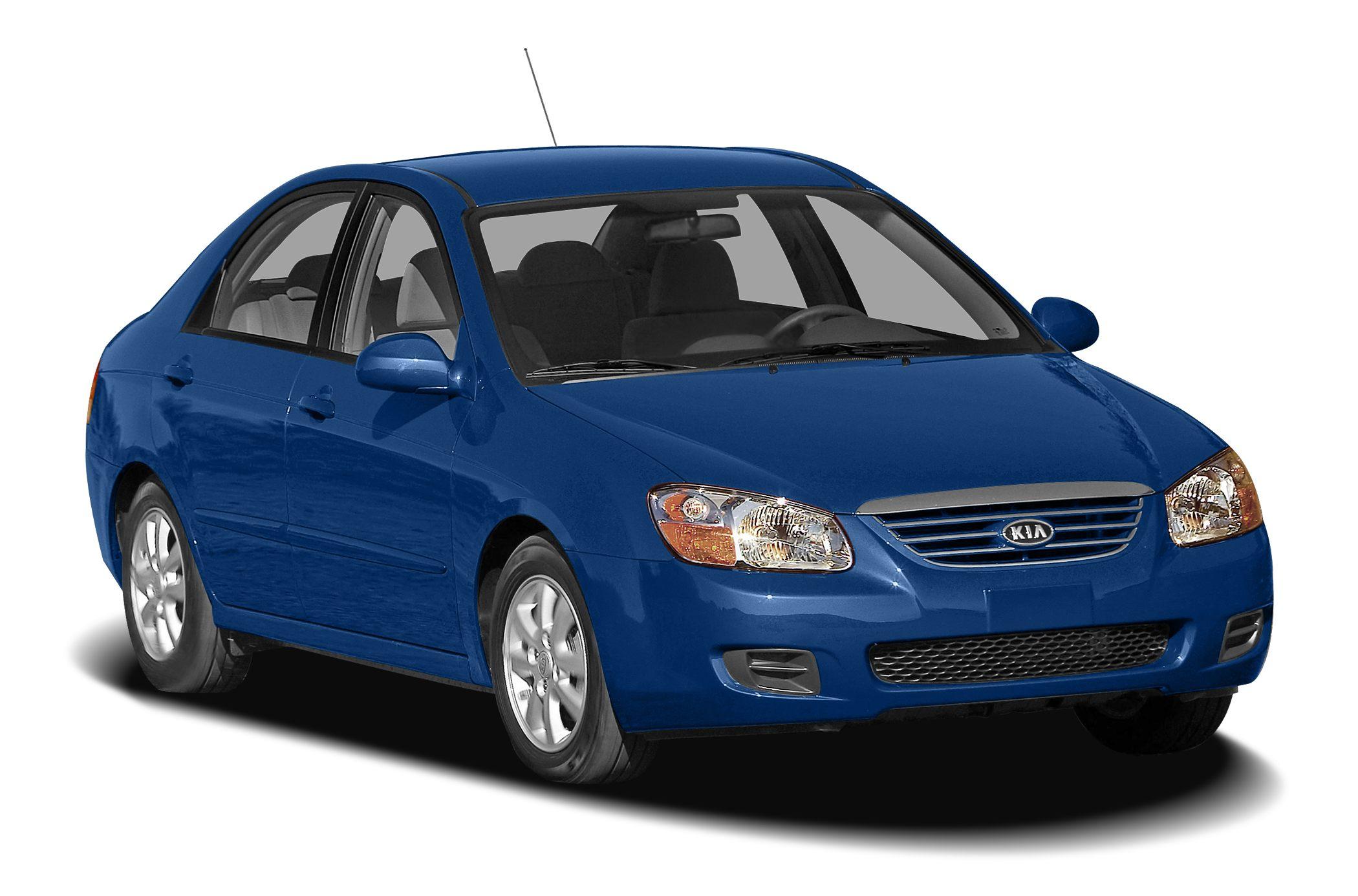 2007 Kia Spectra EX Miles 133414Color Light Blue Stock P6709A VIN KNAFE121575430348