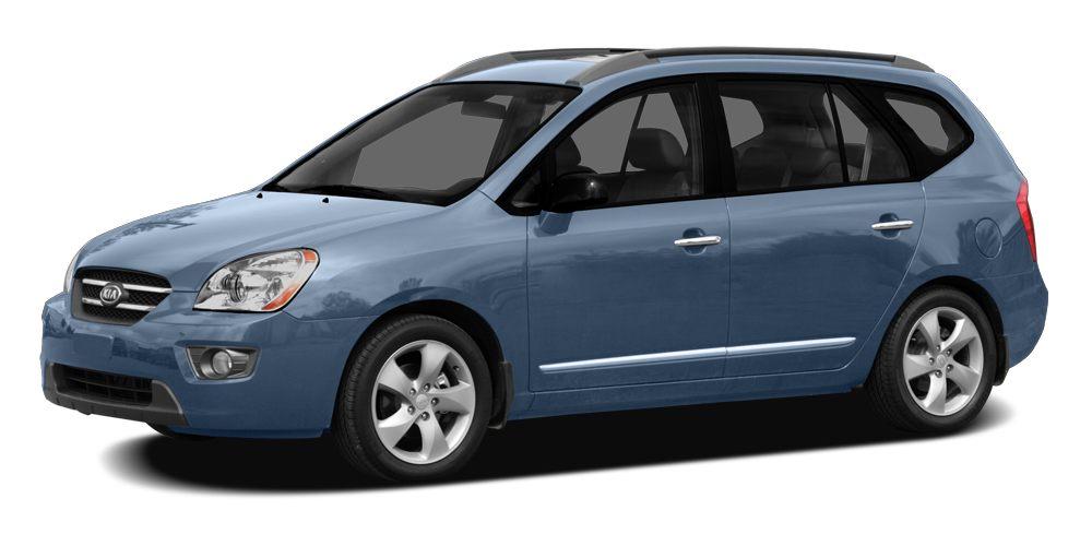 2007 Kia Rondo LX Miles 138615Color Blue Stock 8401 VIN KNAFG525177096635