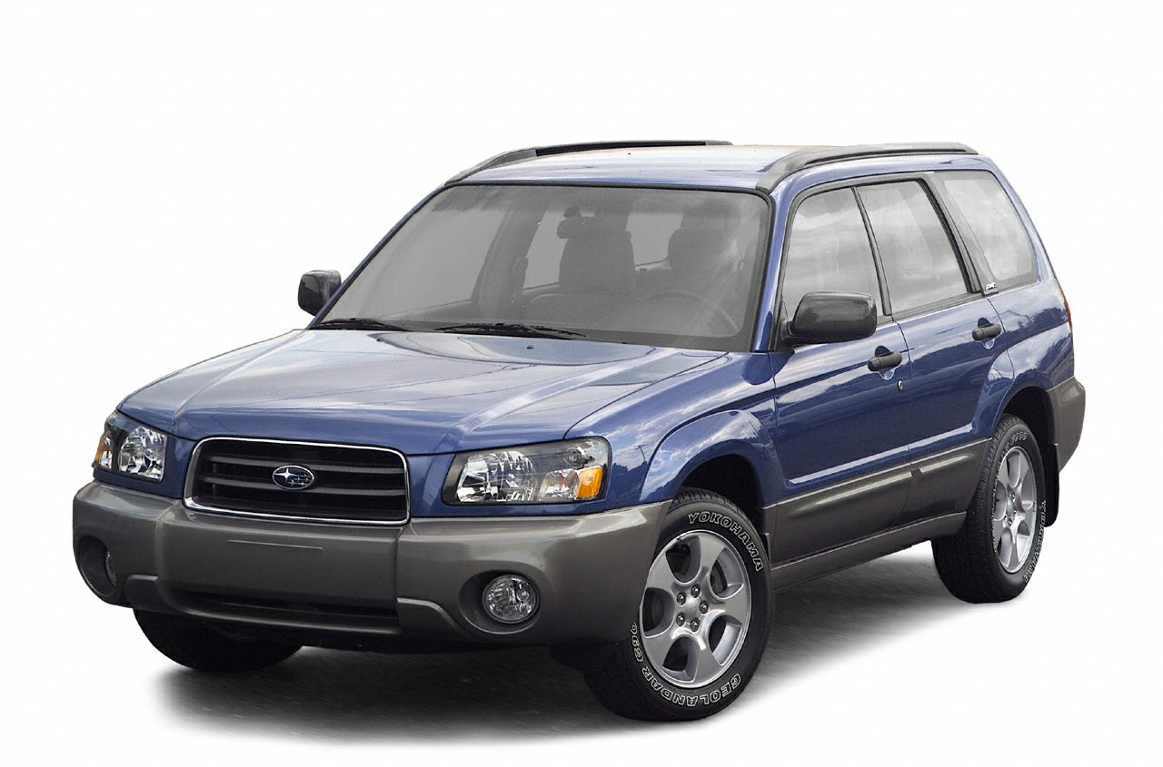 2003 Subaru Forester XS Miles 166711Color Pacifica Blue Pearl  Steel Gray Stock T22461B VIN