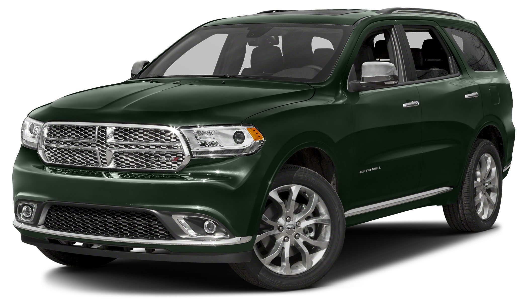 2015 Dodge Durango Citadel Miles 35189Color Black Forest Green Pearlcoat Stock 80518A VIN 1C