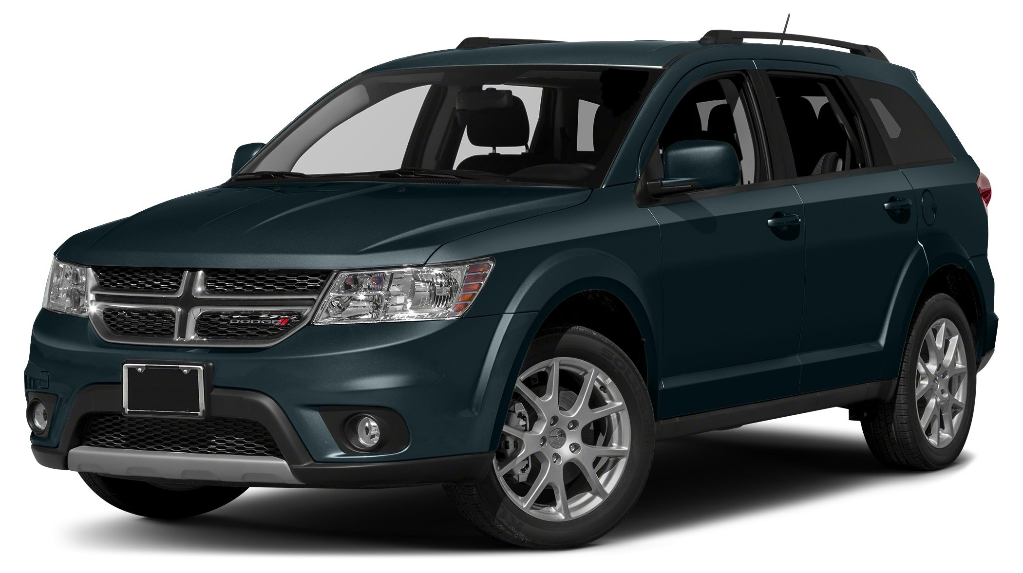 2015 Dodge Journey SXT EPA 26 MPG Hwy19 MPG City Pitch Black Clearcoat exterior and Black interi