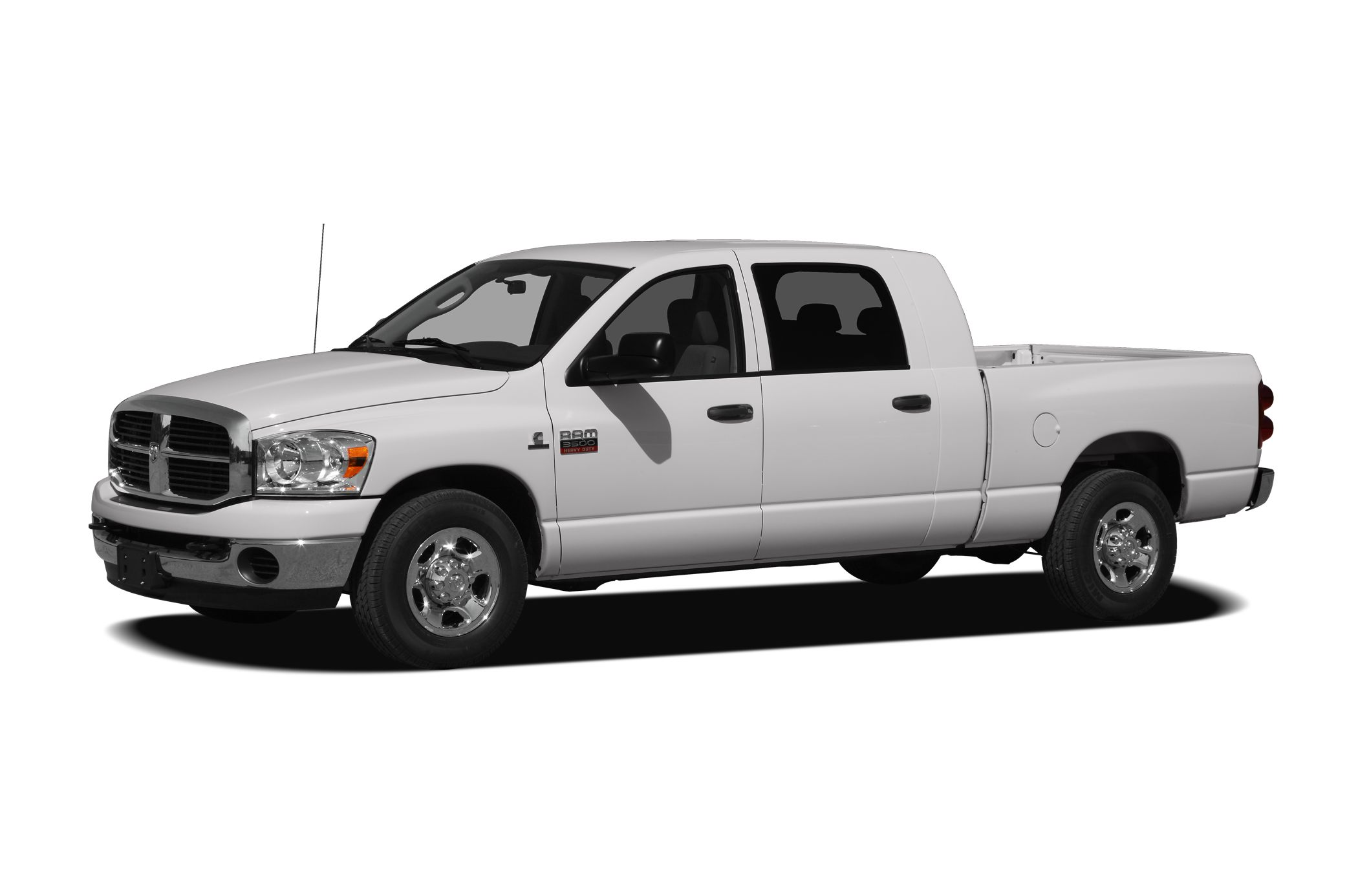 2008 Dodge Ram 3500 SLT Cummins 67L I6 Turbodiesel and 4WD Extended Cab Short Bed There is no