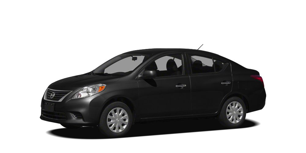 2012 Nissan Versa 16 SV Miles 101290Color Super Black Stock 7170207A VIN 3N1CN7AP7CL939627