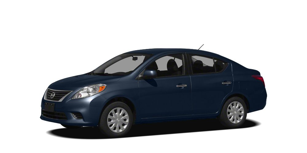 2012 Nissan Versa 16 SV CARFAX 1 owner and buyback guarantee SAVE AT THE PUMP 38 MPG Hwy T