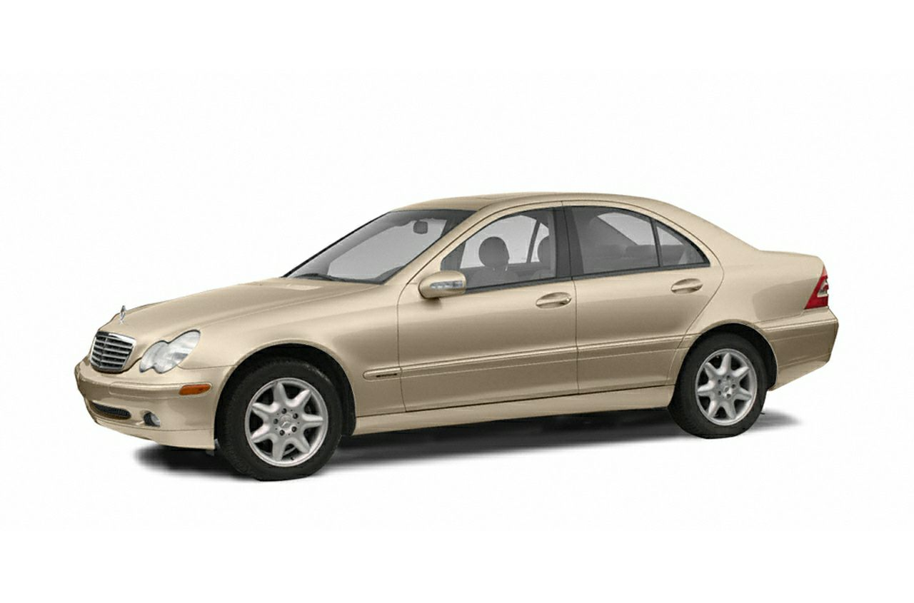 2002 MERCEDES C-Class C240 Grab a deal on this 2002 Mercedes-Benz C-Class 4DR SDN before someone e