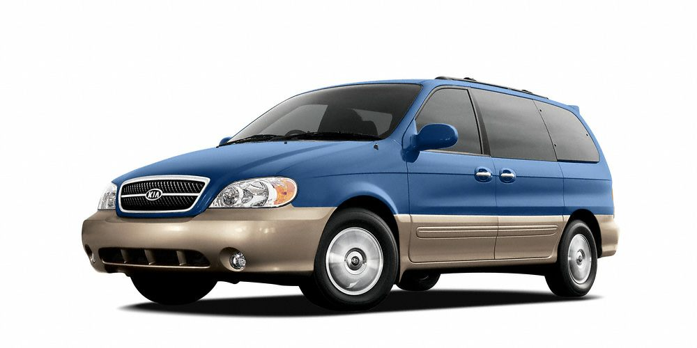 2005 Kia Sedona EX Grab a steal on this 2005 Kia Sedona EX while we have it Comfortable yet easy