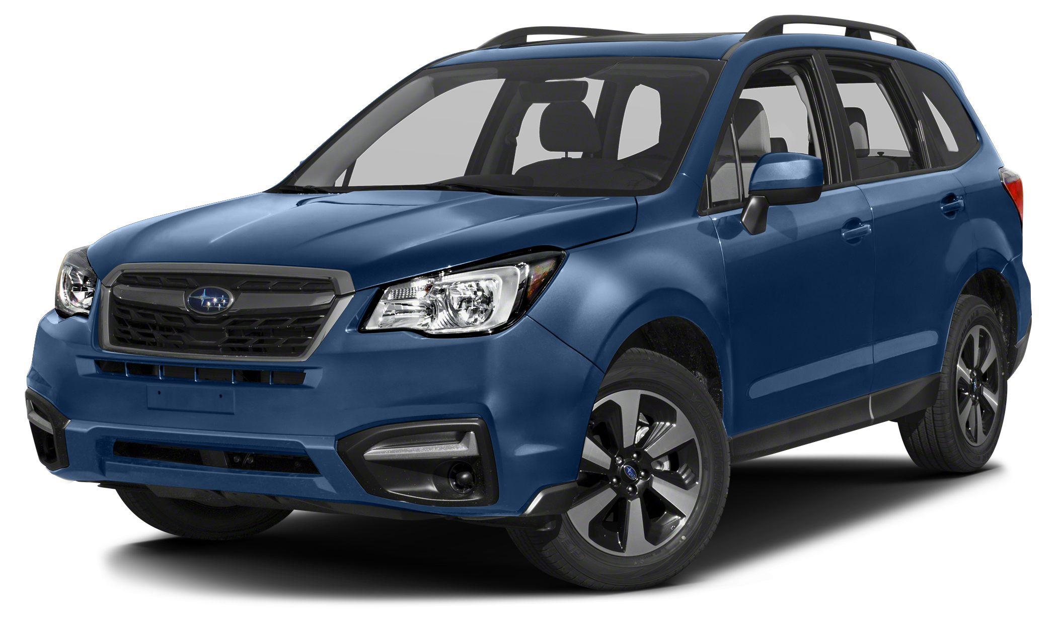 2017 Subaru Forester 25i Premium Miles 5Color Quartz Blue Pearl Stock 17U280 VIN JF2SJAEC0H