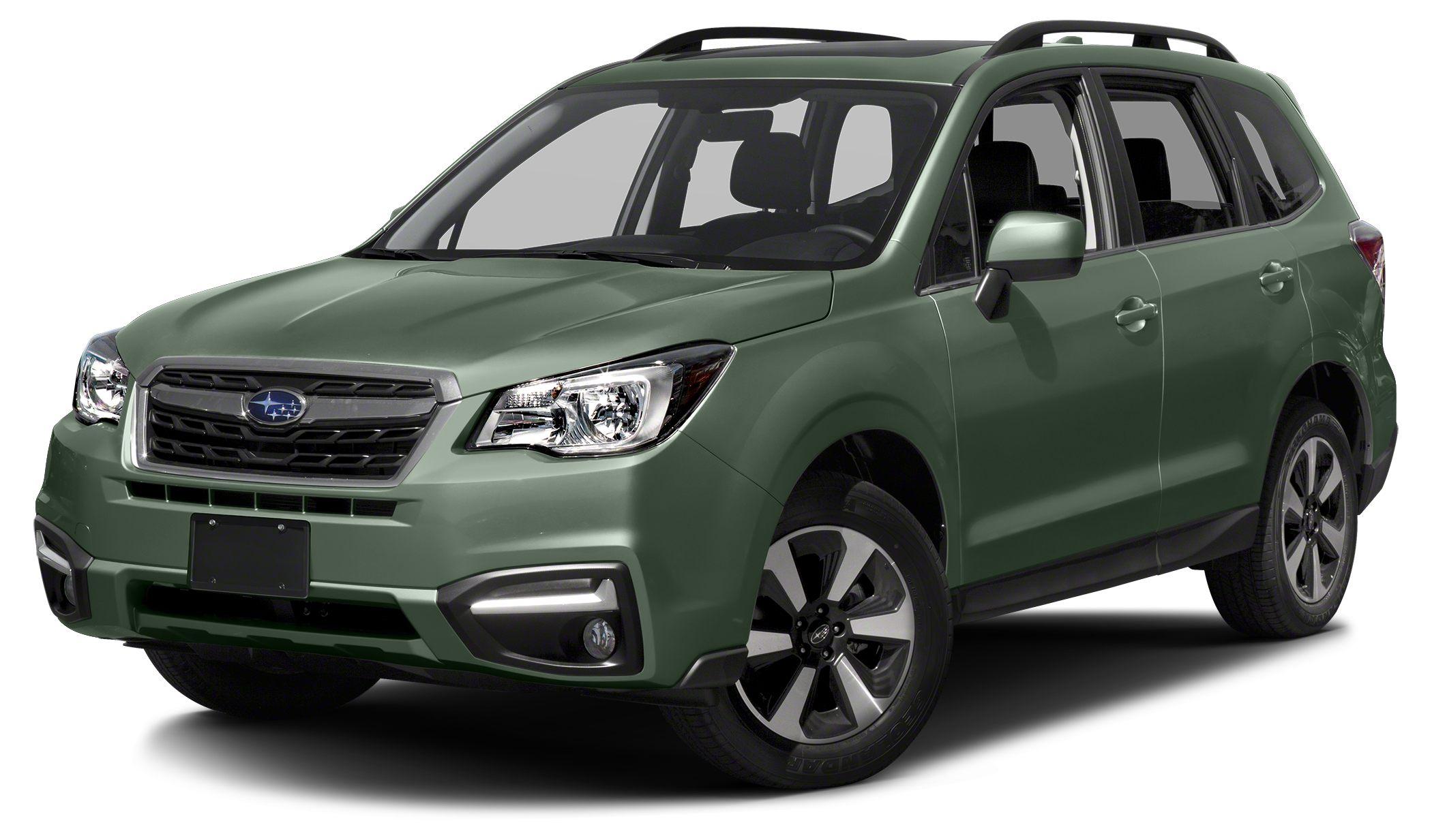 2017 Subaru Forester 25i Limited Miles 5Color Jasmine Green Metallic Stock SH563106 VIN JF2