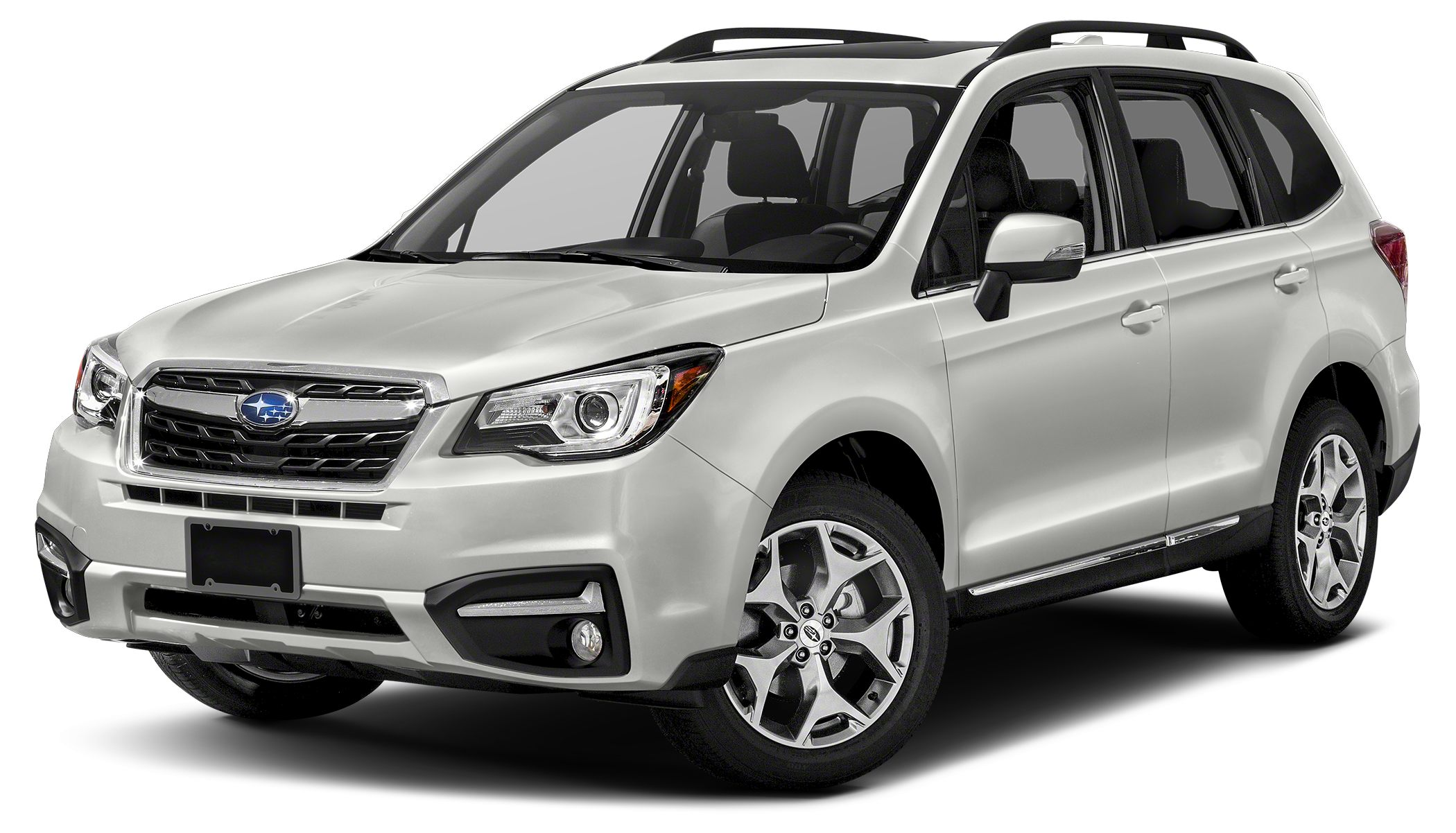 2017 Subaru Forester 25i Touring Miles 5Color Crystal White Pearl Stock 17U017 VIN JF2SJATC