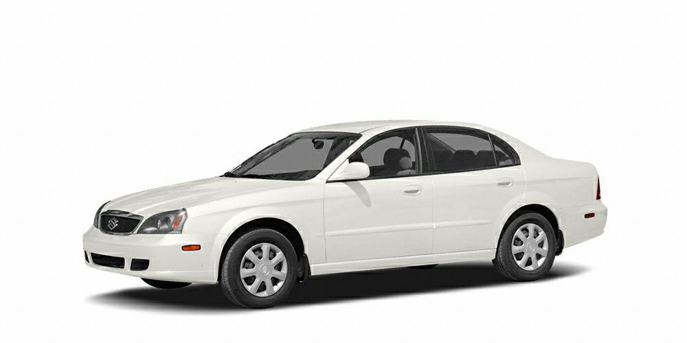 2005 Suzuki Verona S Miles 119497Color White Stock T595 VIN KL5VJ56L85B176894