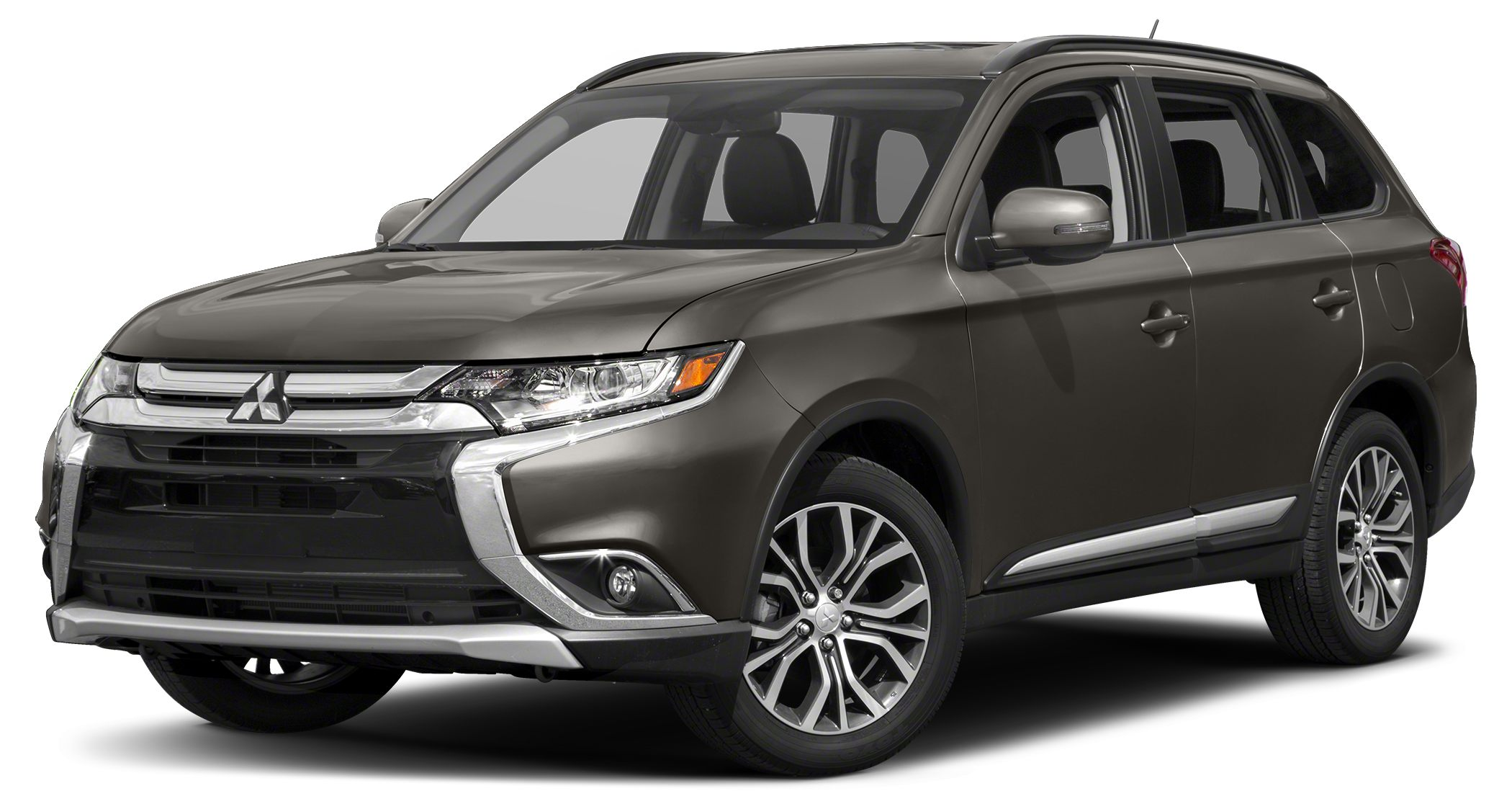2018 Mitsubishi Outlander LE The sleek styling of the 2018 Mitsubishi Outlander adds a dash of coo