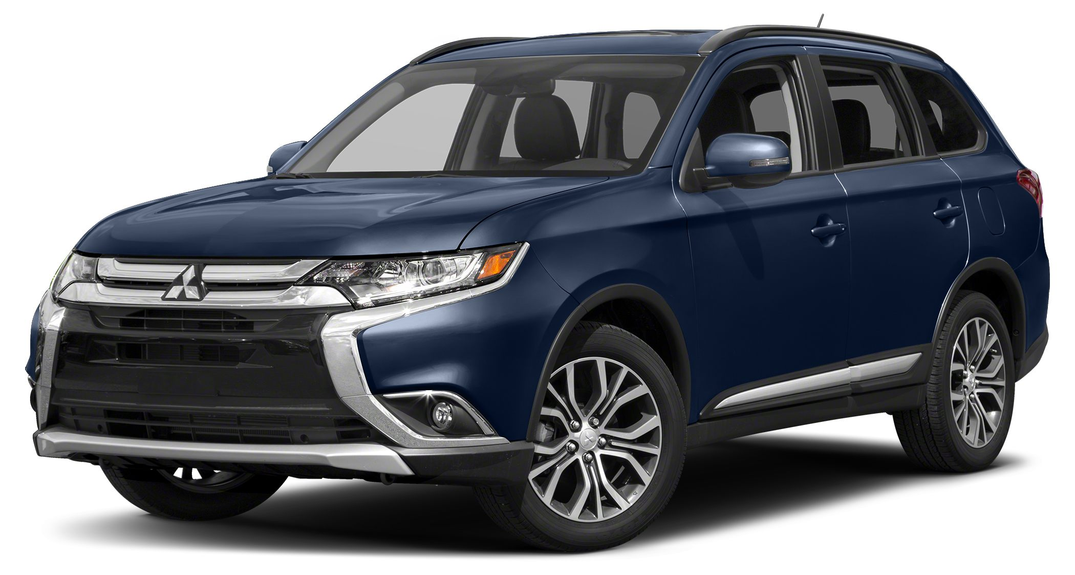 2017 Mitsubishi Outlander SEL The Mitsubishi Outlander with a tough upper front grille in a new l