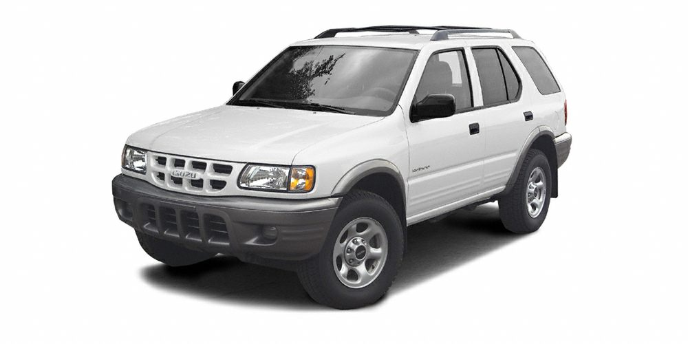 2002 Isuzu Rodeo S Miles 999999Color White Stock 16F113A VIN 4S2CK58W724302169