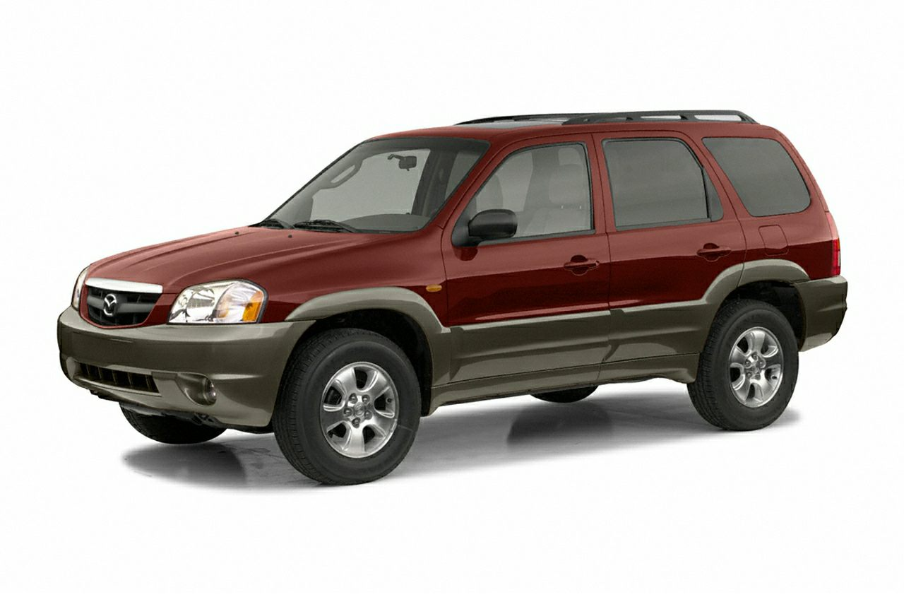 2003 Mazda Tribute LX V6 Miles 159858Color Silver Stock S0562A VIN 4F2YZ04163KM12086