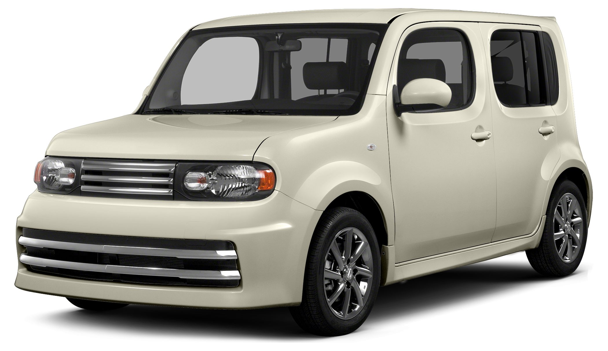 2014 Nissan cube 18 SL Squarely unconventional the Nissan cube is fun modern and unlike anythi
