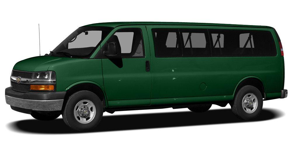2008 Chevrolet Express 1500 LS Miles 89719Color Woodland Green Stock 6650 VIN 1GNFH154881211
