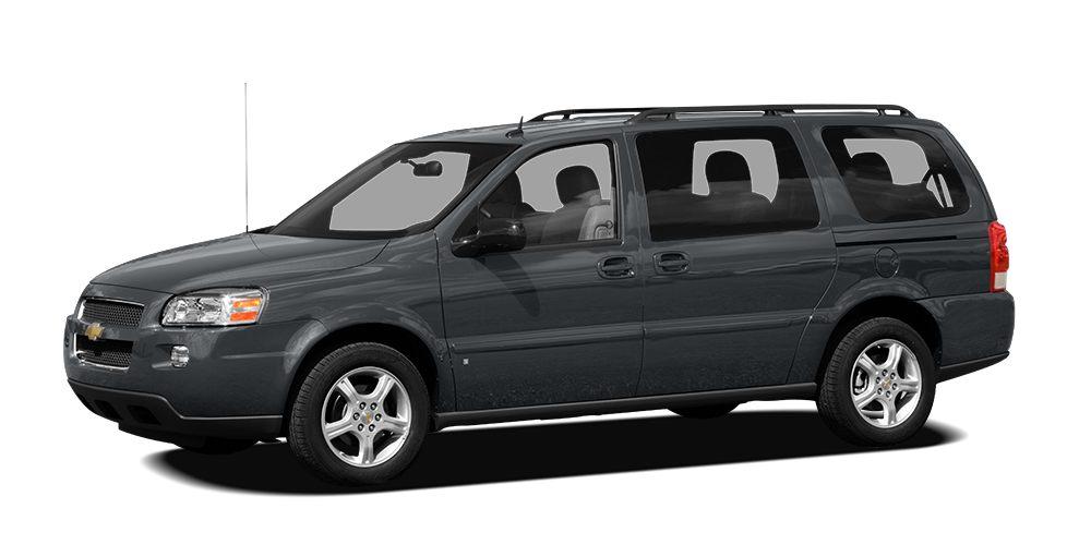 2008 Chevrolet Uplander LT w1LT 2008 Chevrolet Uplander LT in Slate Metallic vehicle highlights i