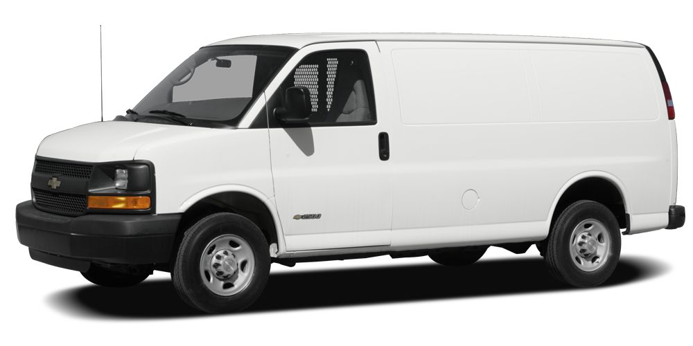 2008 Chevrolet Express 3500 Work Van Miles 81314Color Summit White Stock 8239 VIN 1GCHG39K88