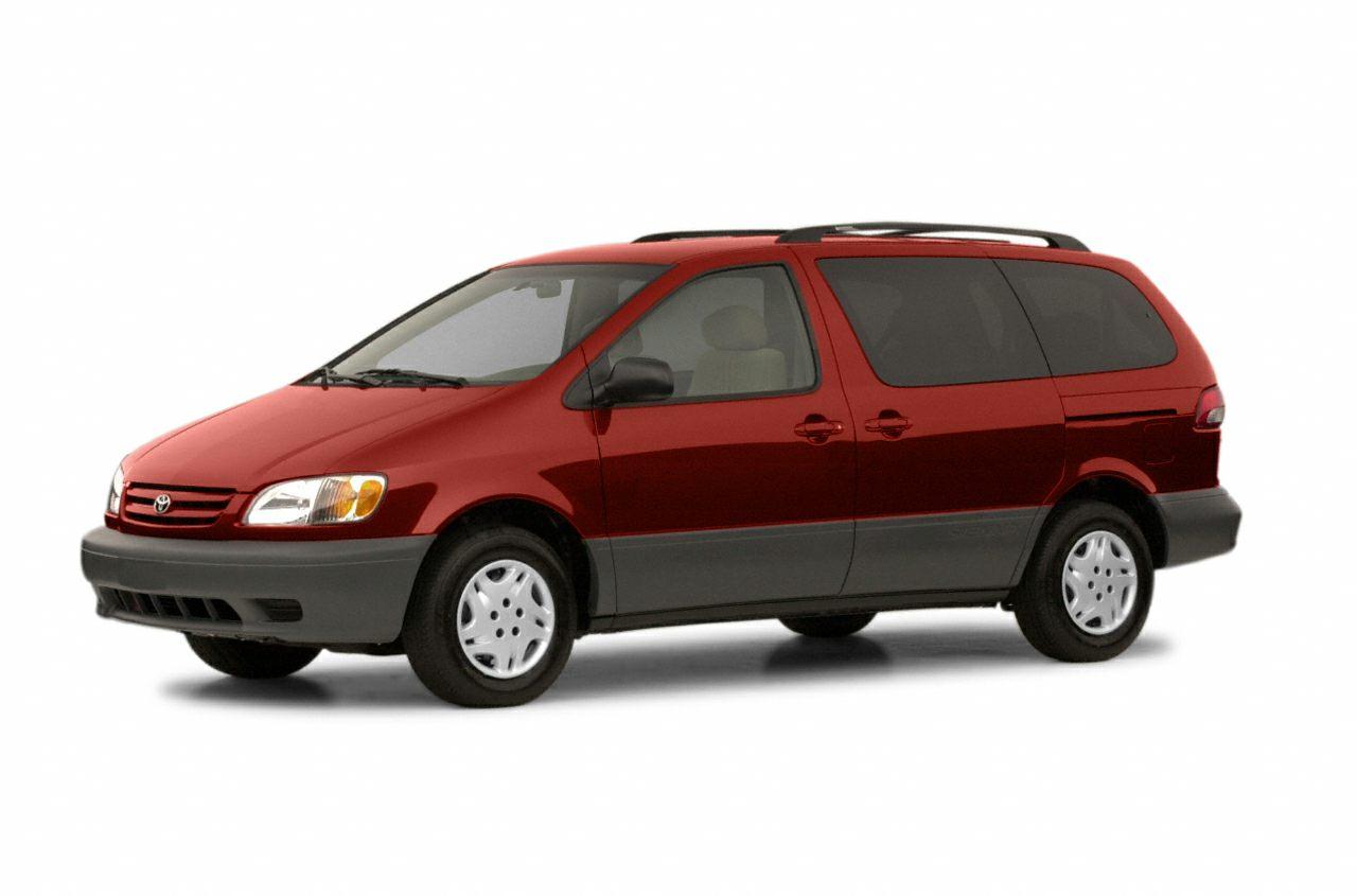 2002 Toyota Sienna LE Miles 193719Color Gray Stock 16SU55B VIN 4T3ZF13C32U475495