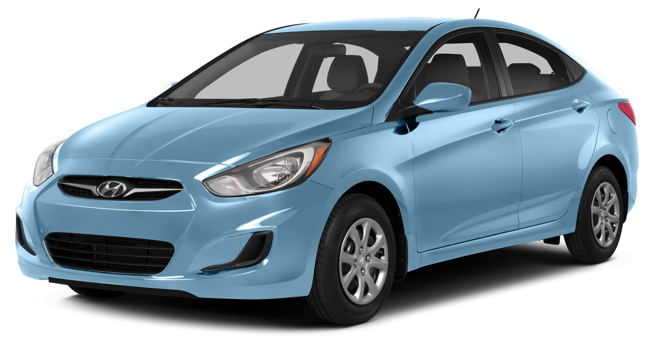 2014 Hyundai Accent GLS Miles 40510Color Clearwater Blue Metallic Stock U2073 VIN KMHCT4AE7E