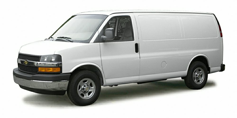 2003 Chevrolet Express 2500 Cargo Color White Stock F16NV301A VIN 1GCFG25T231153921