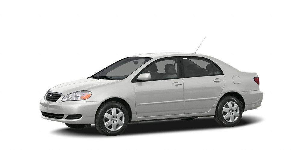 2006 Toyota Corolla LE CARFAX 1-Owner LE trim FUEL EFFICIENT 41 MPG Hwy32 MPG City Moonroof A