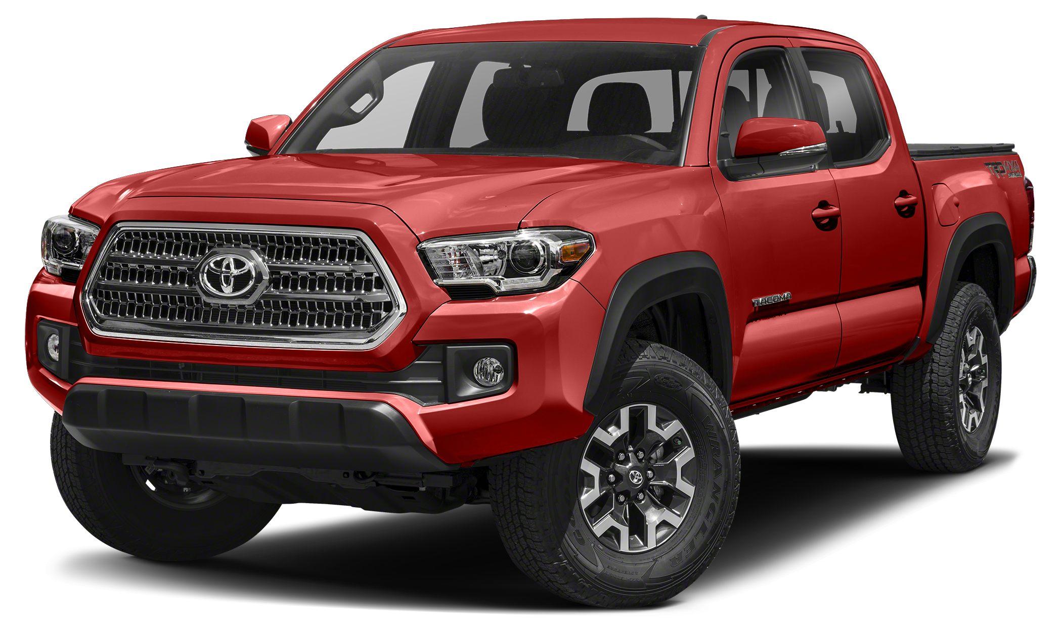 2017 Toyota Tacoma TRD Off Road Heated Seats Moonroof Nav System Back-Up Camera Keyless Start