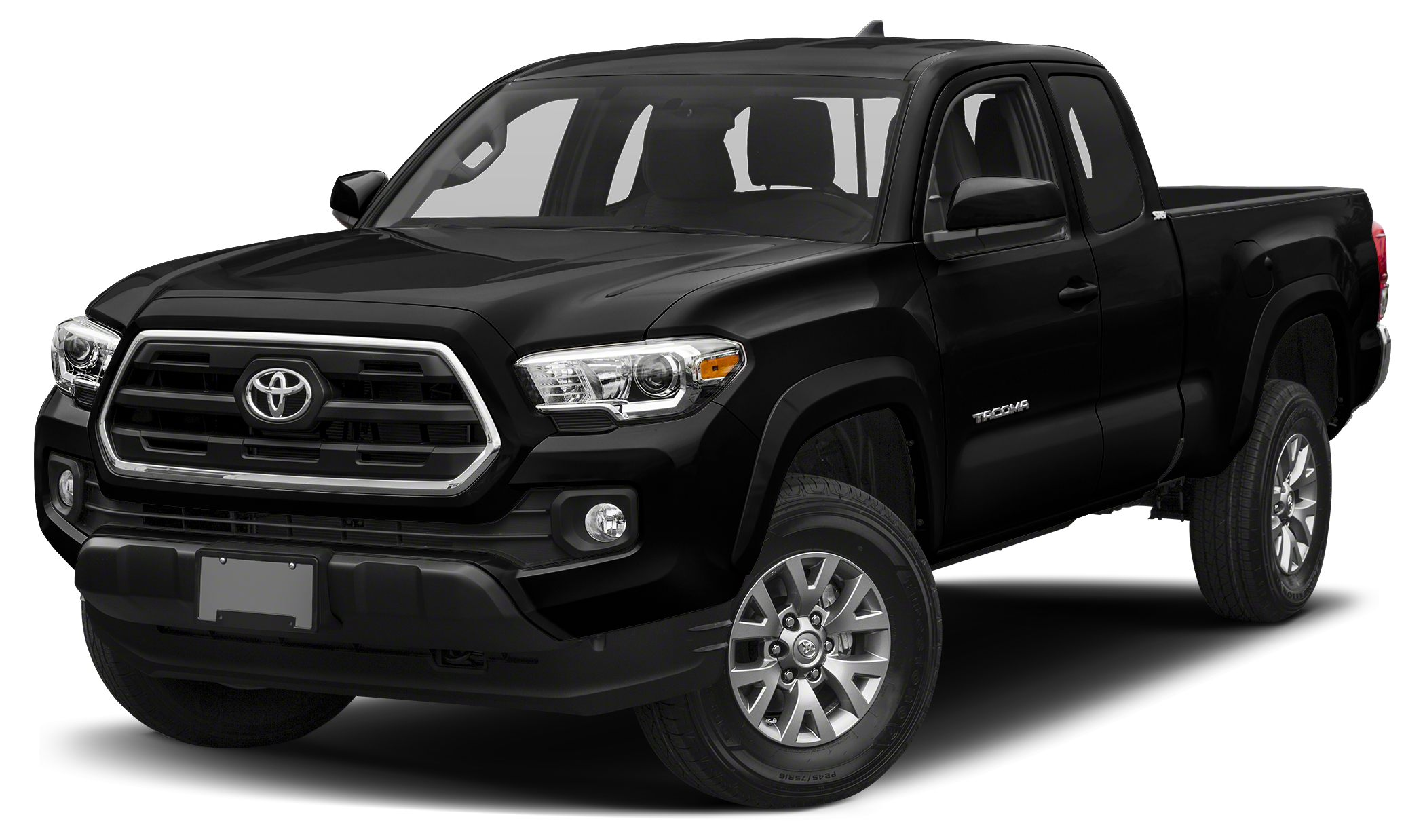 2018 Toyota Tacoma SR5 Midnight Black Metallic SR5 Preferred Owners Portfolio 4WD All Weather F
