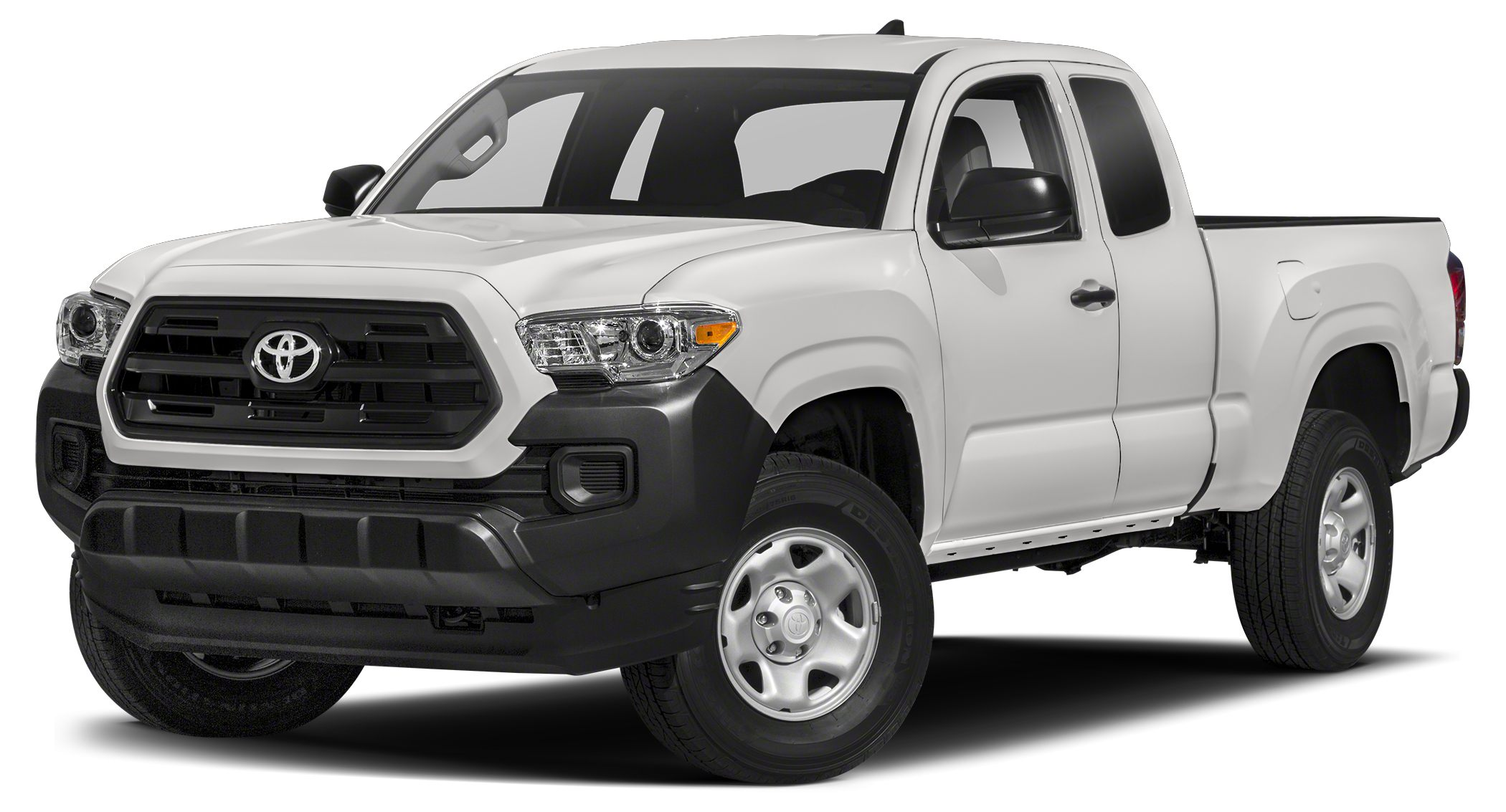 2017 Toyota Tacoma SR SUPER WHITE exterior and CEMENT GRAY interior SR trim CD Player Bluetooth