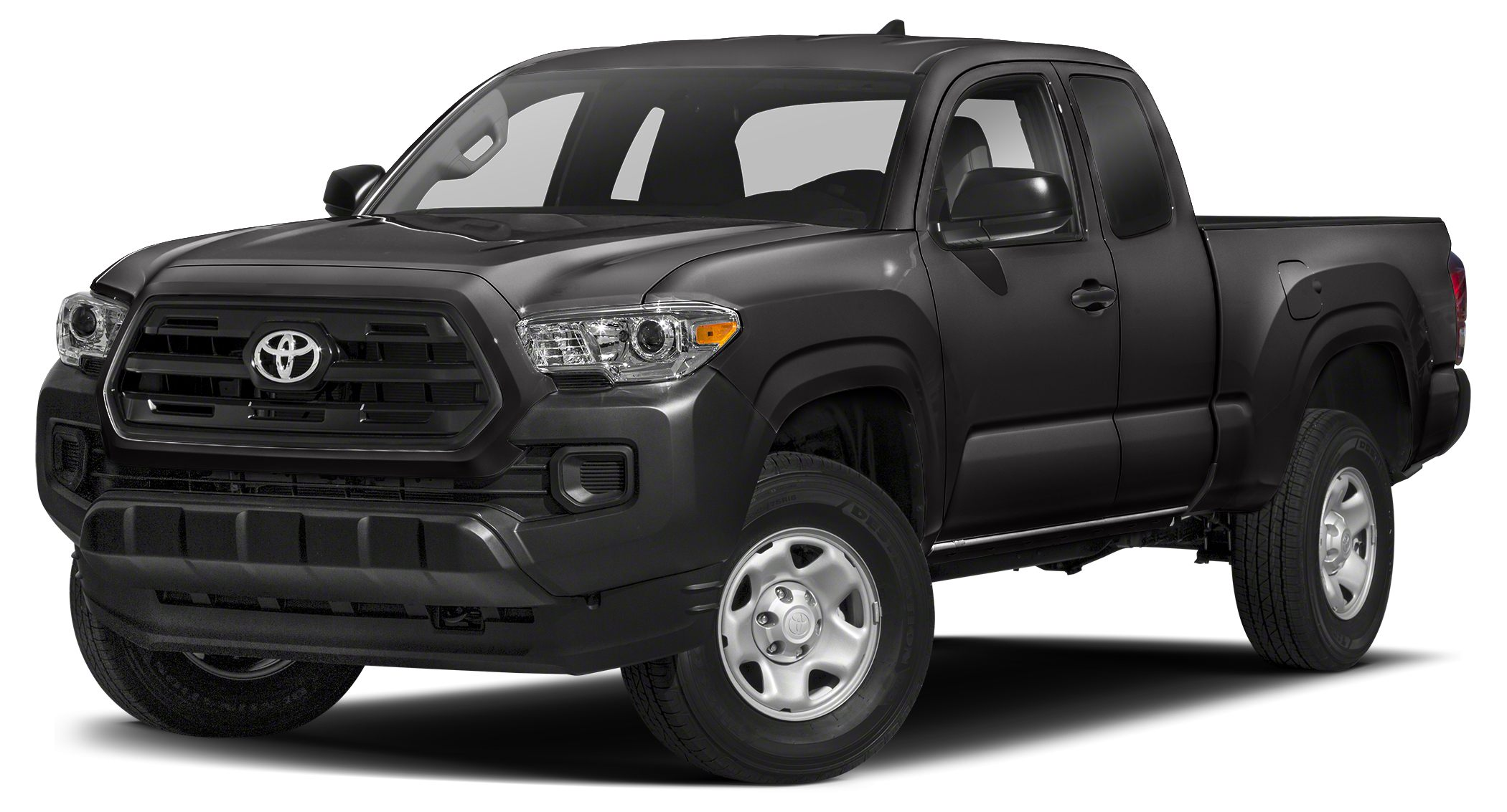 2017 Toyota Tacoma SR MAGNETIC GRAY METALLIC exterior and CEMENT GRAY interior SR trim EPA 21 MP