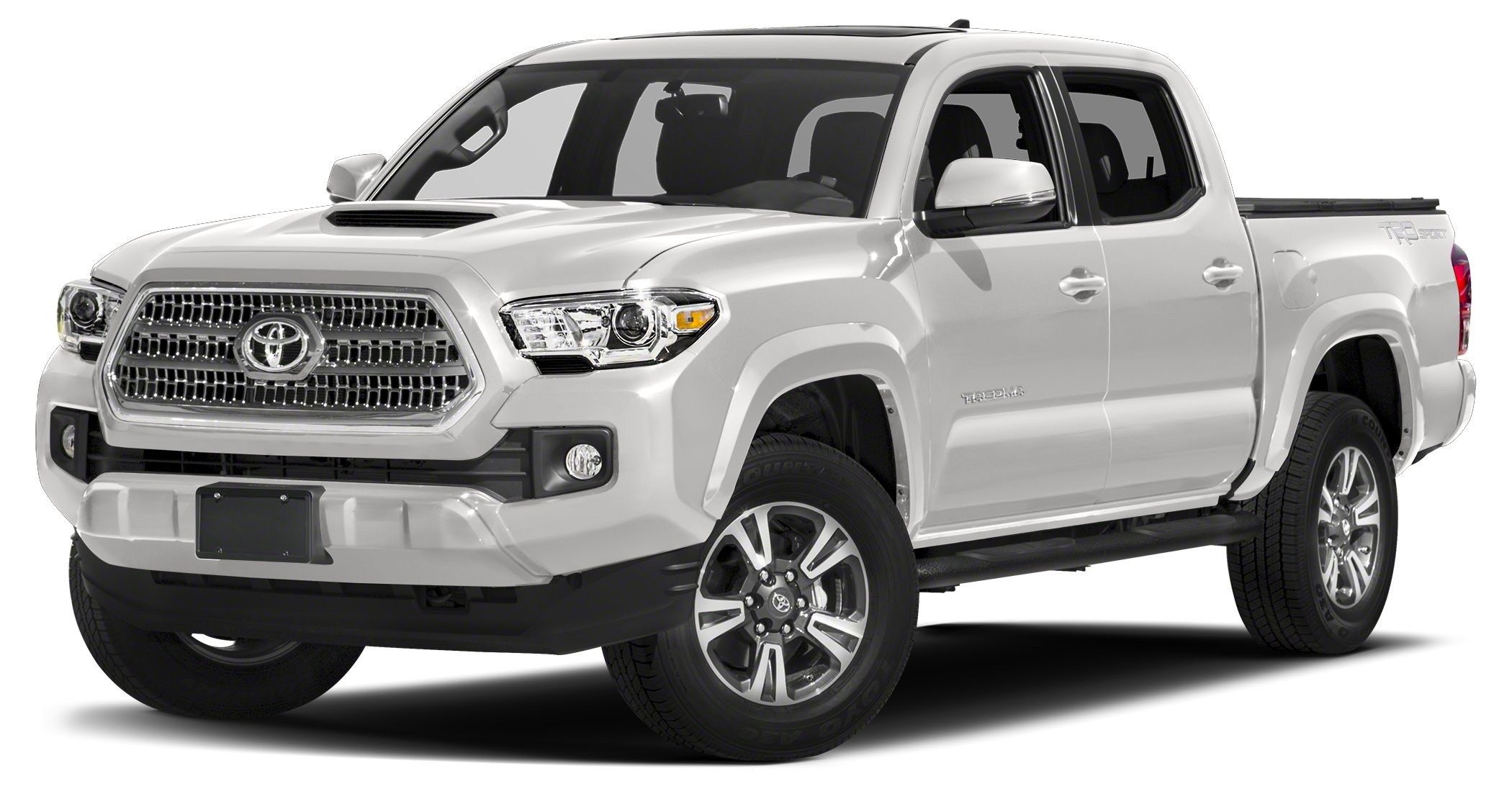 2016 Toyota Tacoma TRD Sport Miles 0Color Super White Stock TT3593 VIN 3TMAZ5CN0GM022070