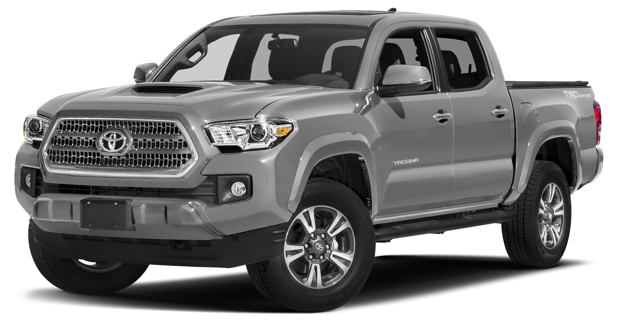 2017 Toyota Tacoma TRD Sport FUEL EFFICIENT 23 MPG Hwy18 MPG City Navigation Moonroof Heated S