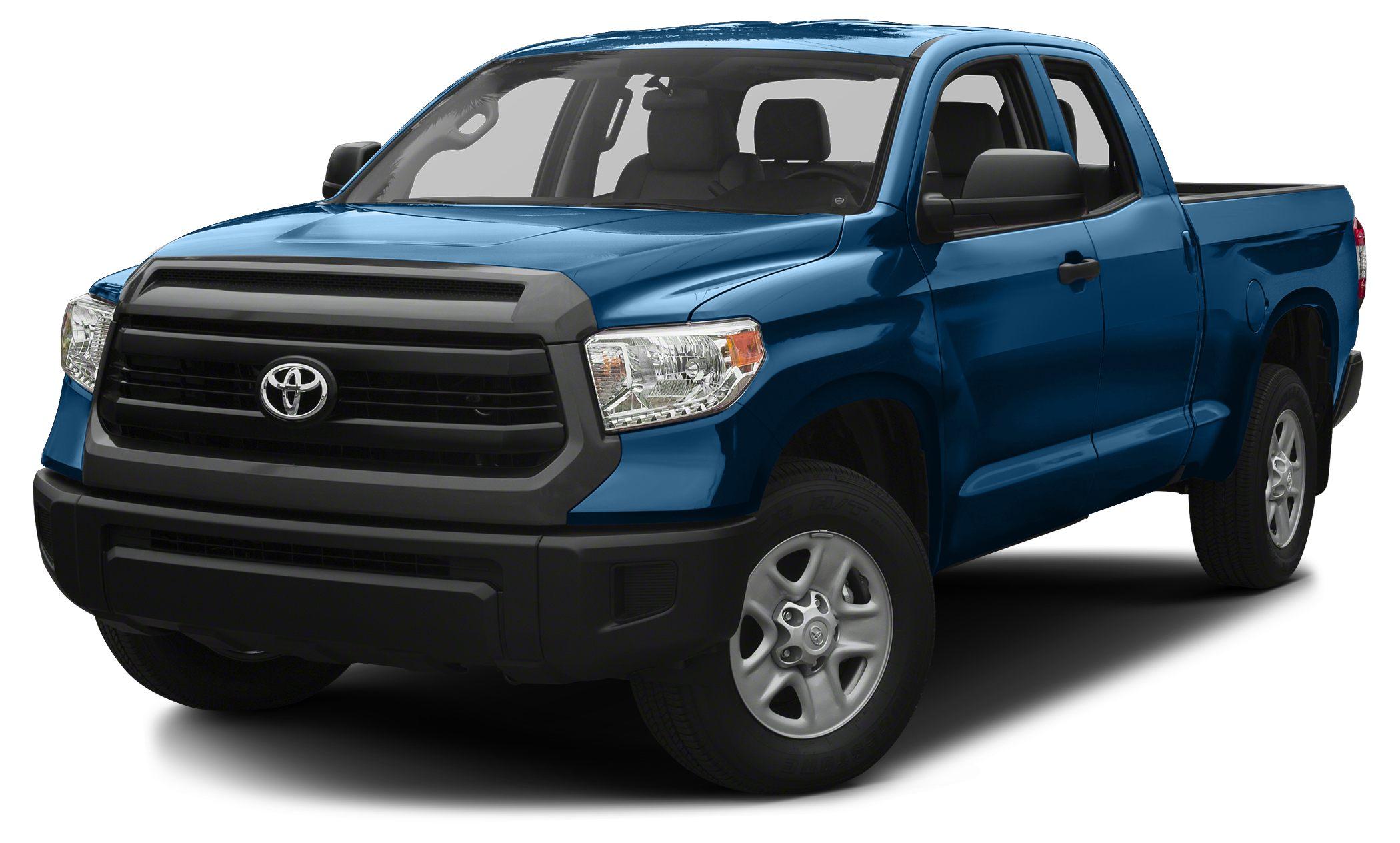 2016 Toyota Tundra SR5 BLAZING BLUE PEARL exterior and GRAPHITE interior SR5 trim iPodMP3 Input