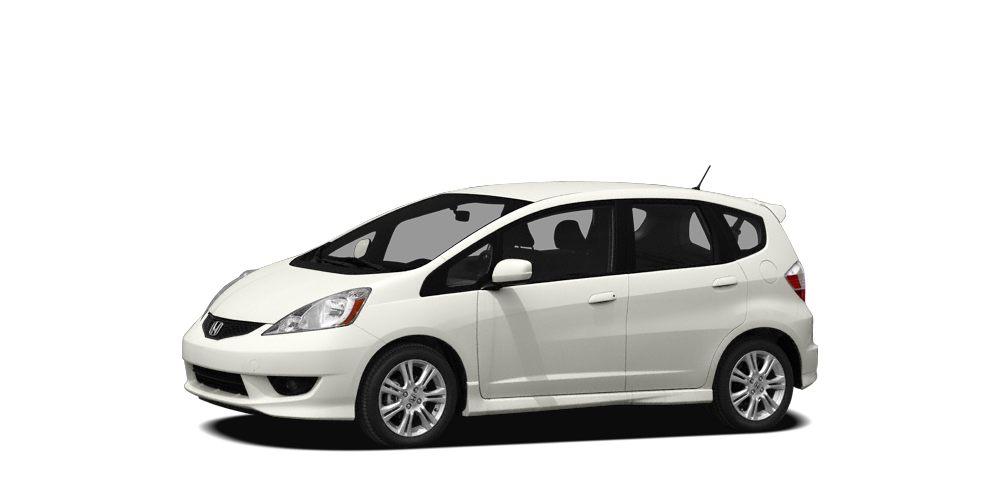 2009 Honda Fit Sport Miles 76233Color Taffeta White Stock S15667A VIN JHMGE88429S026363