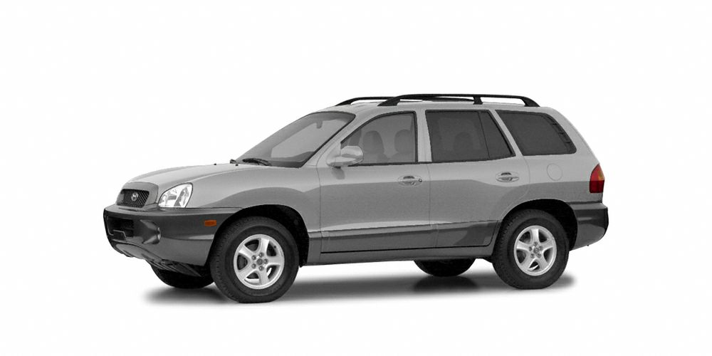 2004 Hyundai Santa Fe GLS Lifetime Engine Warranty at NO CHARGE on all pre-owned vehicles Courtesy