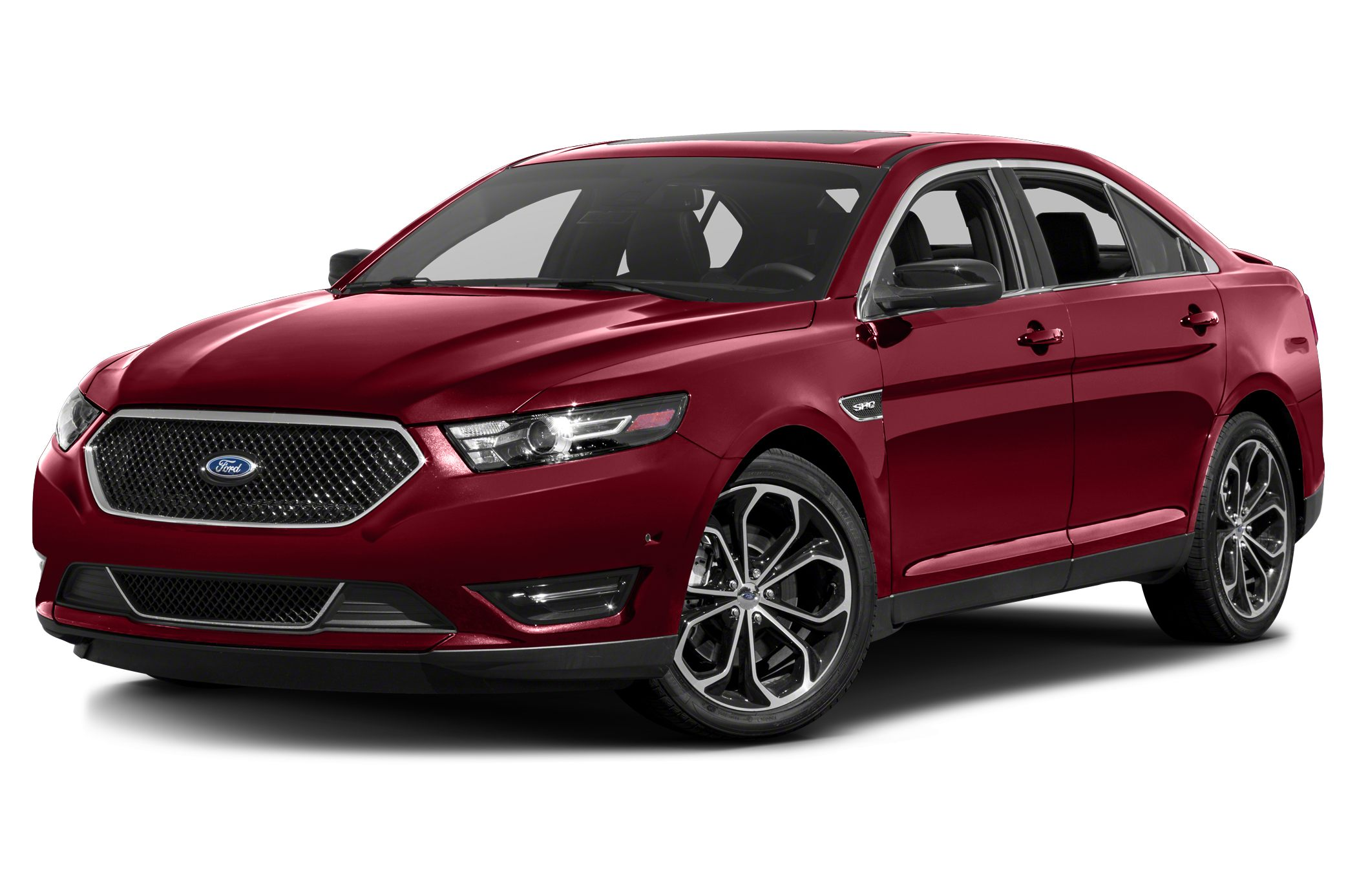 2015 Ford Taurus SHO The Ford Taurus has aggressive front and rear styling that signals a high lev