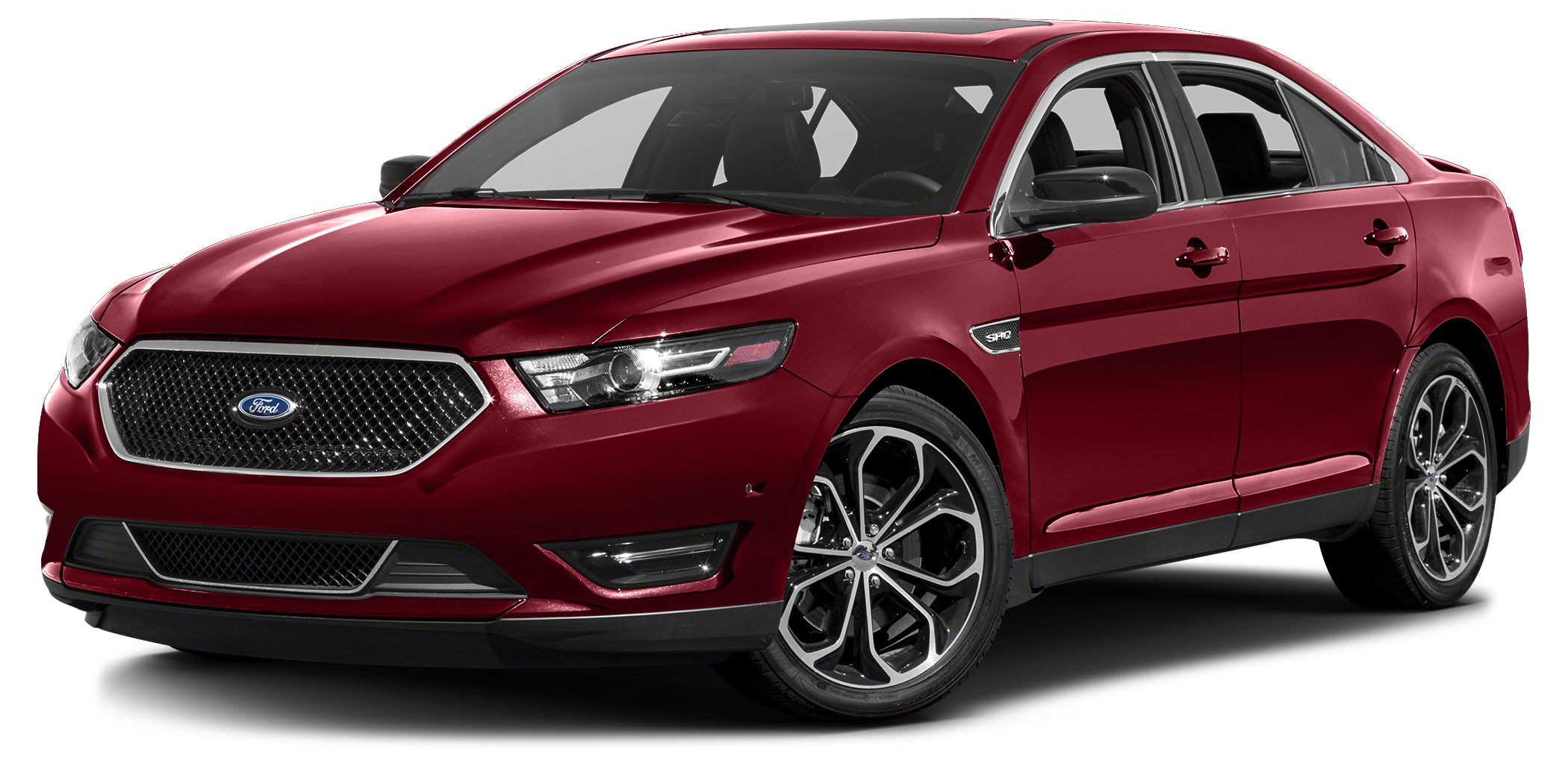 2015 Ford Taurus SHO Miles 19086Color Red Stock P6891L VIN 1FAHP2KT0FG131565
