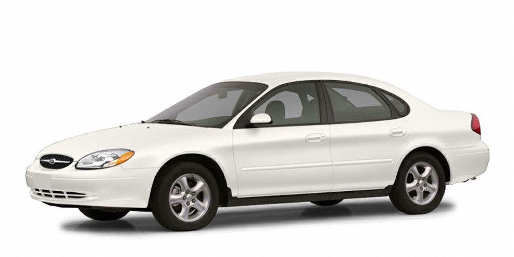 2003 Ford Taurus SES Miles 212000Color Vibrant White Clearcoat Stock B23867A VIN 1FAFP55U03A