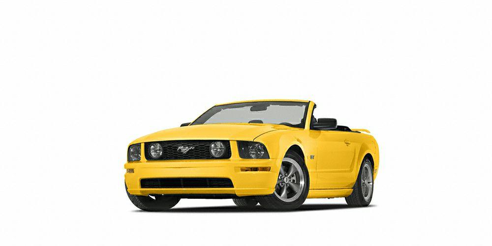 2005 Ford Mustang GT Premium 2D Convertible 46L V8 24V ABS brakes Illuminated entry Remote ke