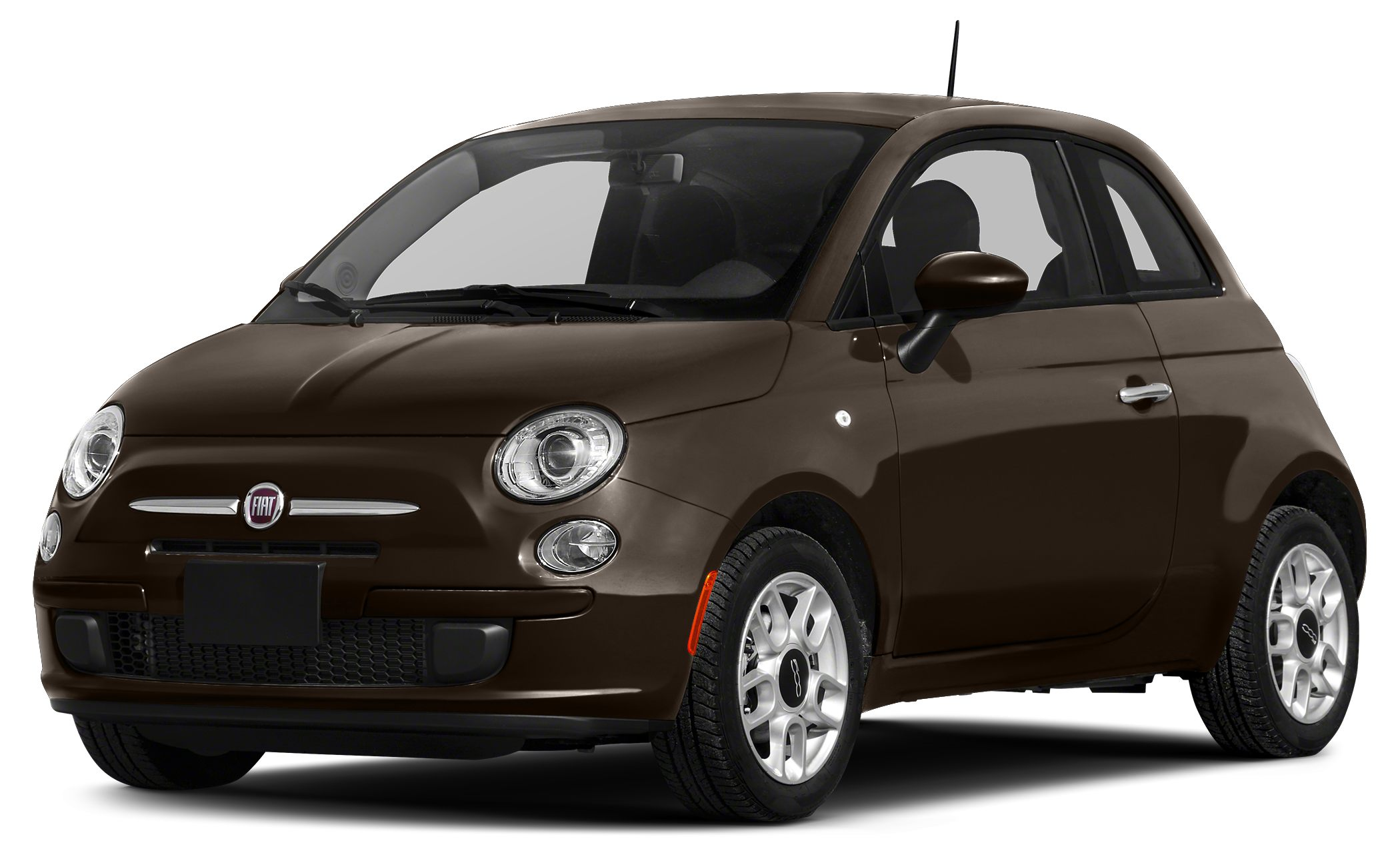 2015 FIAT 500 Pop Miles 0Color Espresso Stock F15055 VIN 3C3CFFAR1FT582069
