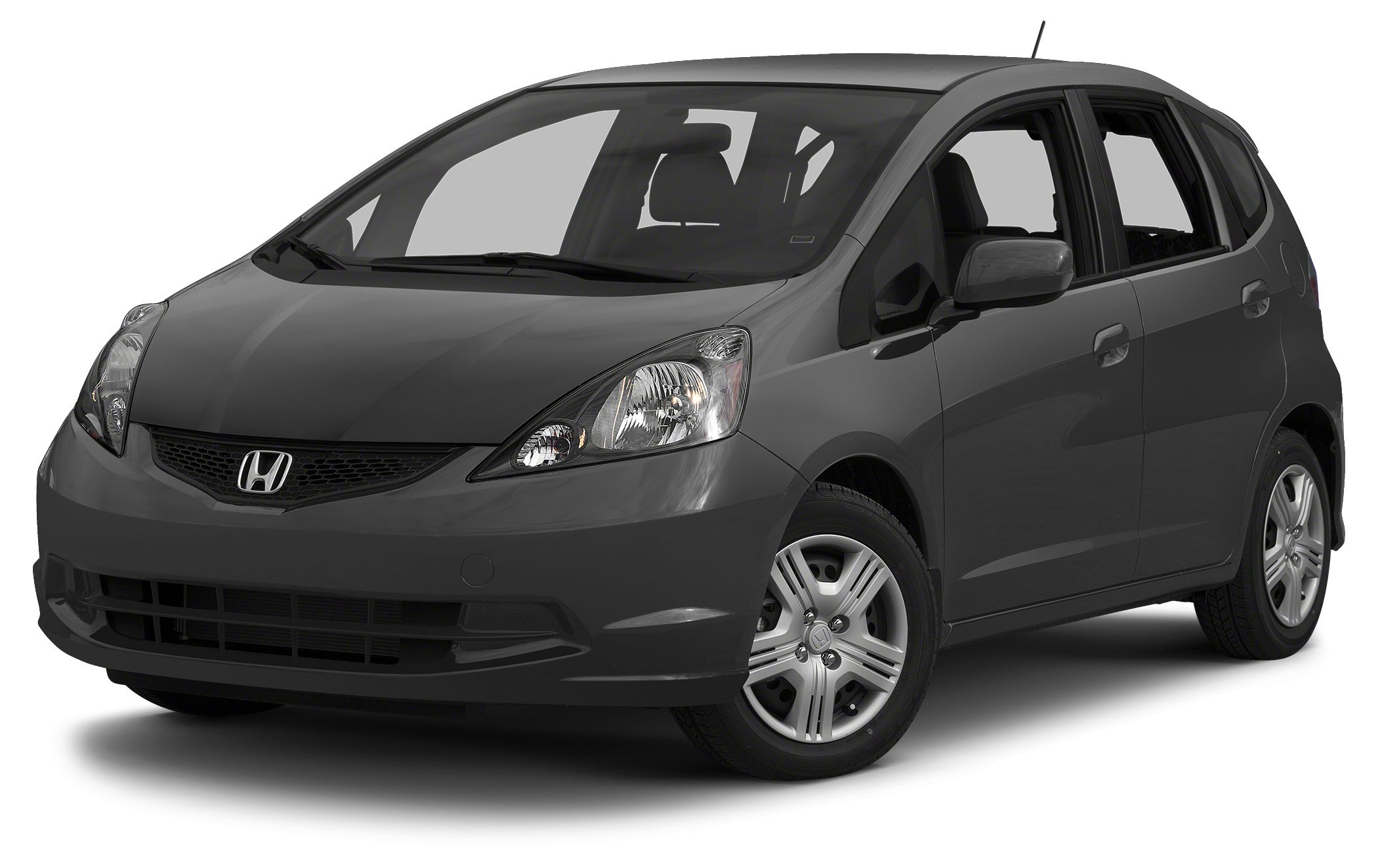 2013 Honda Fit Base Miles 55612Color Gray Stock 15NV90A VIN JHMGE8H32DC004812