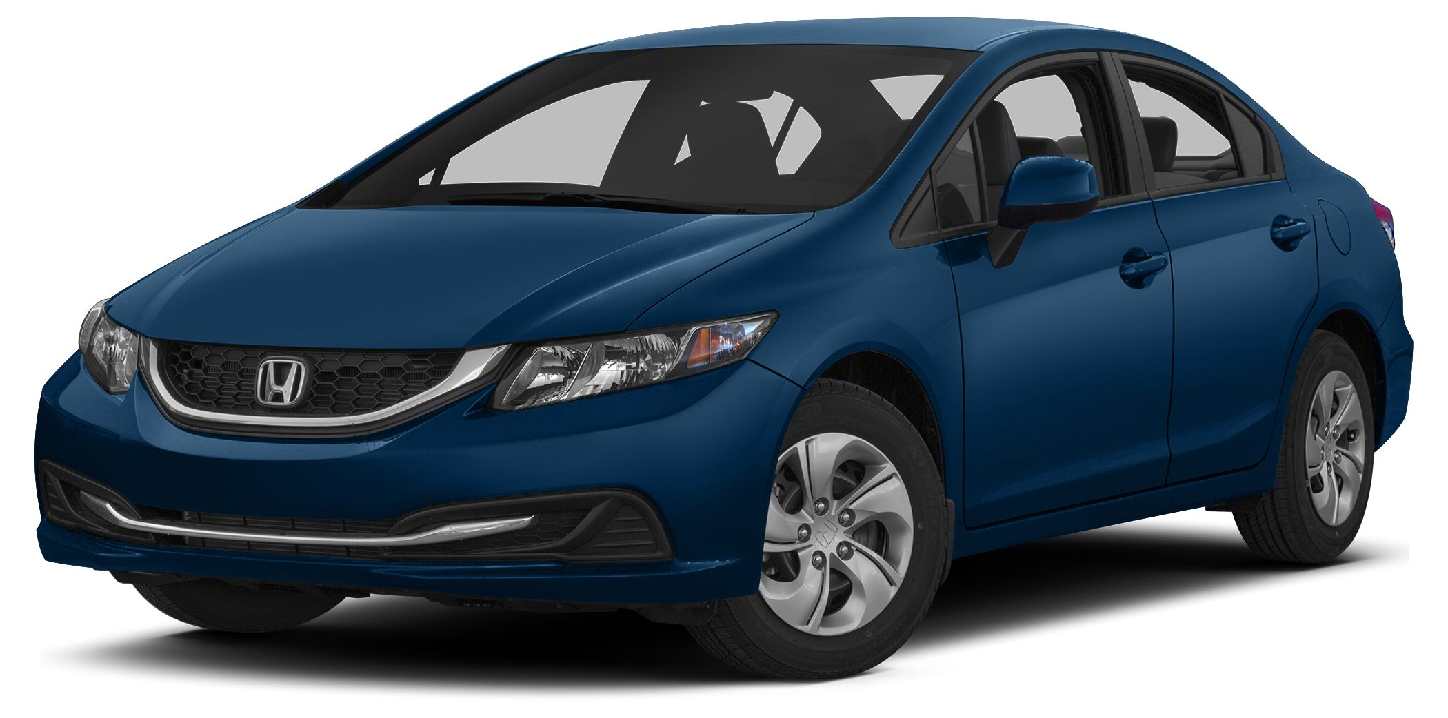 2013 Honda Civic LX Miles 37552Color Dyno Blue Pearl Stock 8622 VIN 2HGFB2F54DH509269