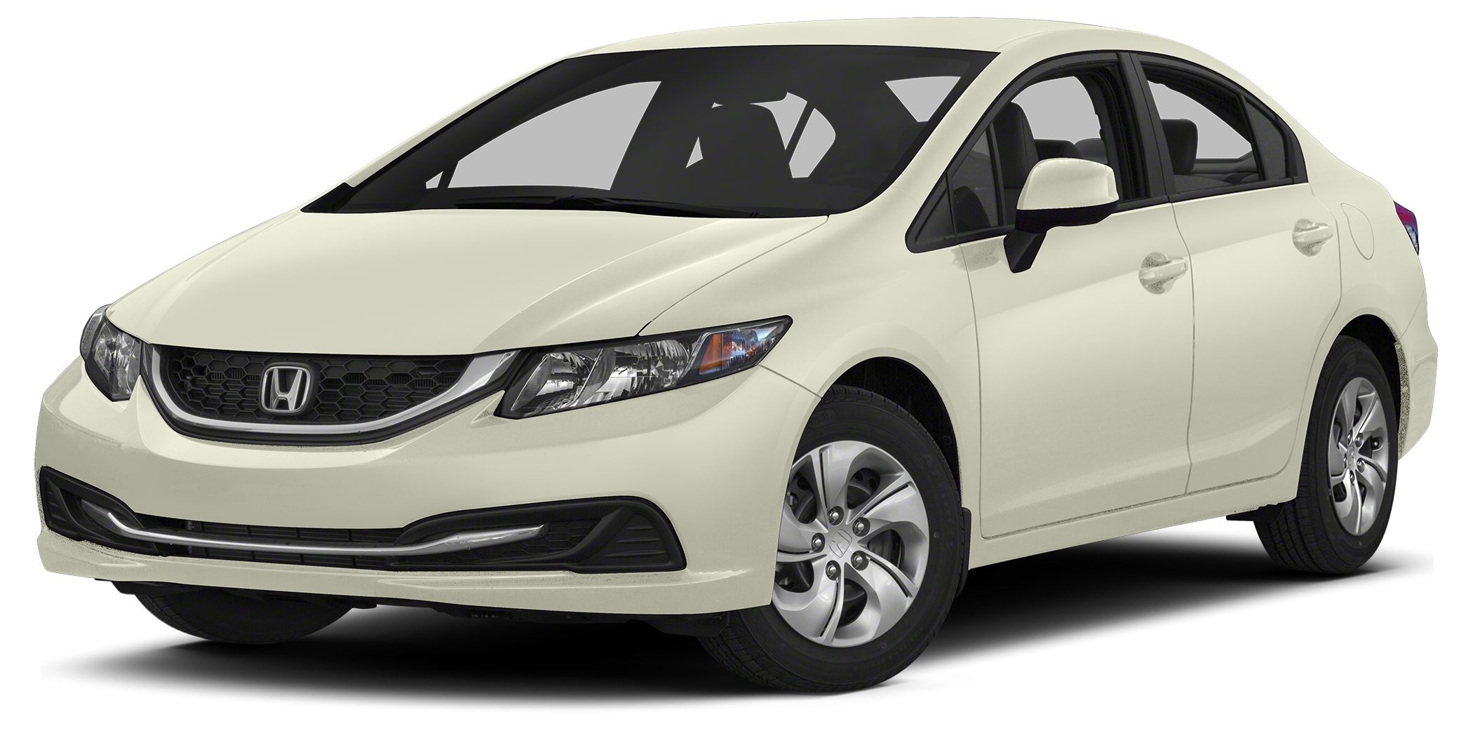 2013 Honda Civic LX Miles 13415Color Taffeta White Stock 603620 VIN 2HGFB2F50DH603620