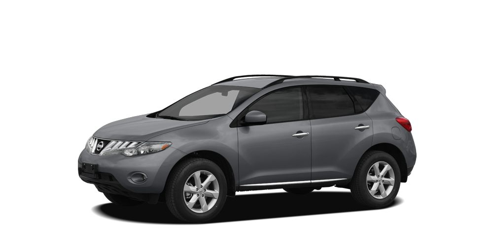 2009 Nissan Murano SL Look at this 2009 Nissan Murano  Its Variable transmission and Gas V6 35L
